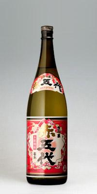 【紅芋焼酎】さつま赤五代 25度 1800ml【山元酒造】