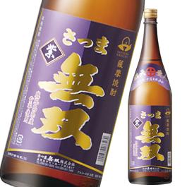【芋焼酎】さつま無双 紫ラベル 25度 1800ml【さつま無双】