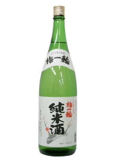 【日本酒】 梅一輪 上撰 純米酒 1800ml 【千葉県】【梅一輪酒造】