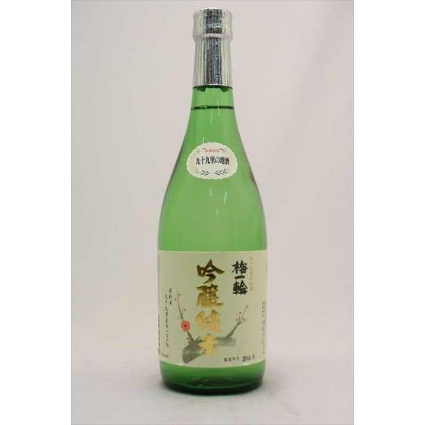【日本酒】 梅一輪 純米吟醸 720ml×6本セット【千葉県】【梅一輪酒造】