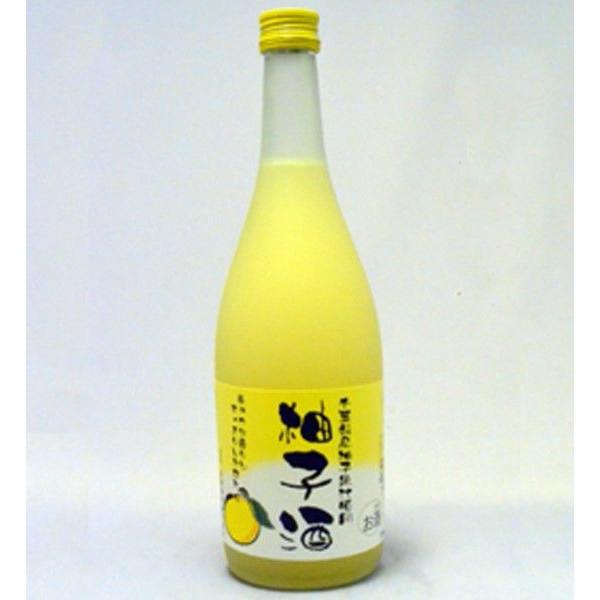 【リキュール】 和蔵酒造 柚子酒 720ml 【日本酒ベース】