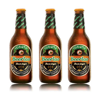 ラオスビール ビアラオ ダーク beerlao dark 330ml瓶 24本セット 【正規輸入品】【ケース販売】 【ラオ ブルワリー社】