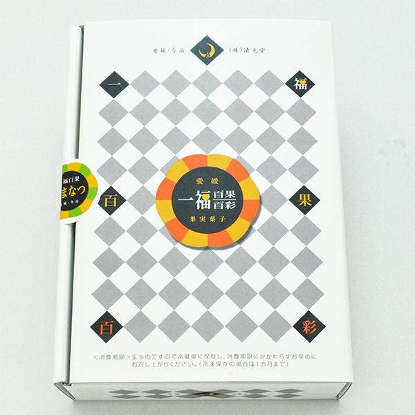 一福百果 あまなつ大福 6個入り 愛媛県今治にある和菓子屋 清光堂