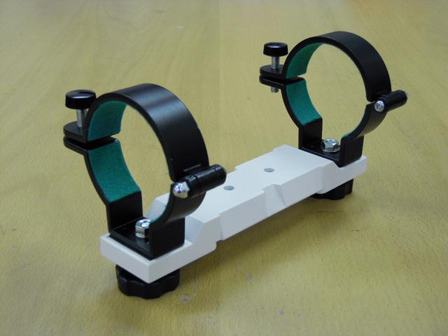 鏡筒バンド(鏡筒外径63mm用)+ビクセンアタッチメントプレート付き