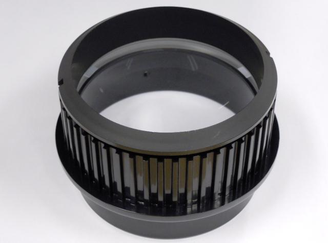 D80mmFL560mmアクロマートレンズABS樹脂セル付◎