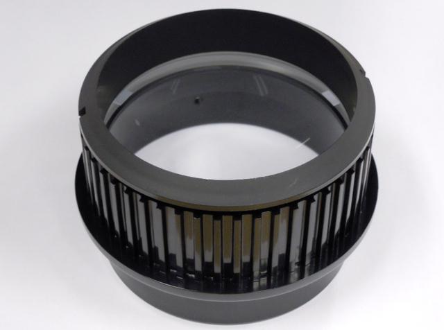 D80mmFL560mmアクロマートレンズABS樹脂セル付