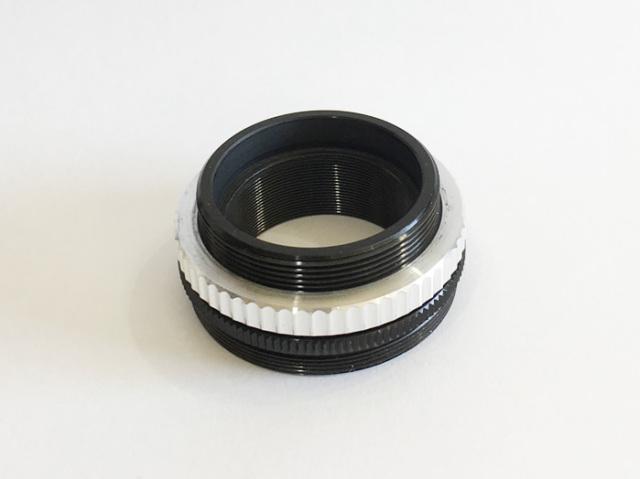 一眼カメラ接続アダプタ(36.4 - 42T アダプタ)