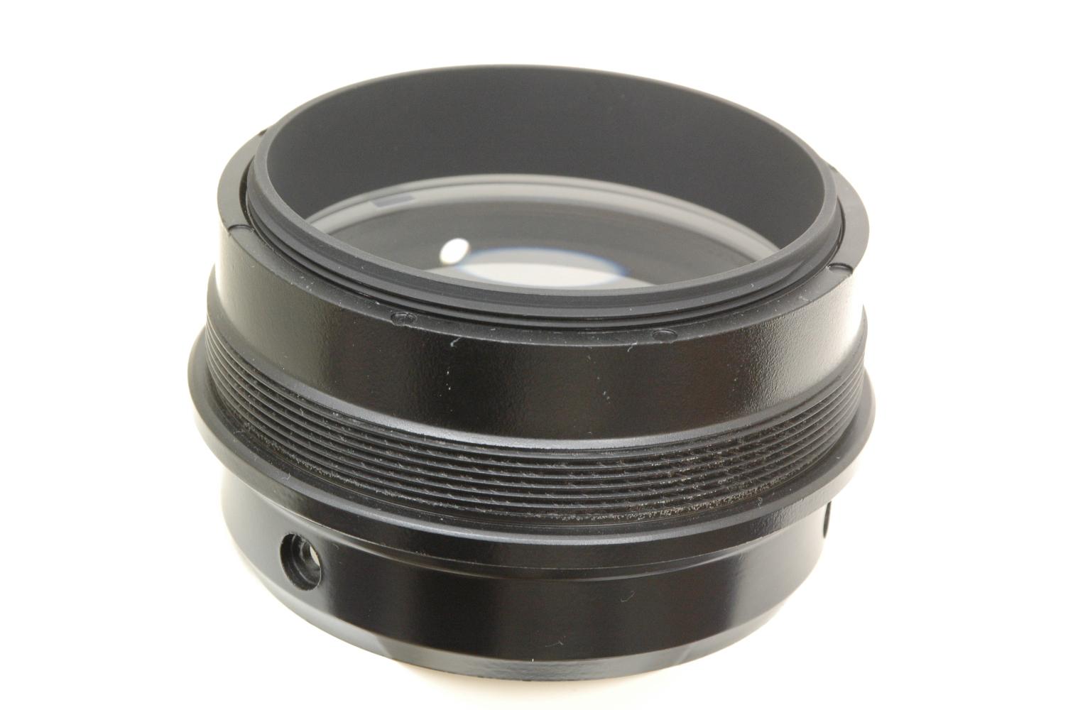 D80mmFL900mmフルコートアクロマートレンズ金属セル付◎