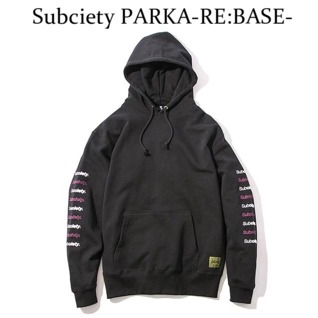 SUBCIETY サブサエティ PARKA-RE:BASE-