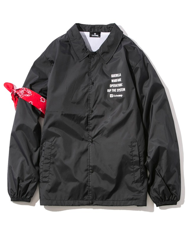 SUBCIETY サブサエティ COACH JKT-SECTION-