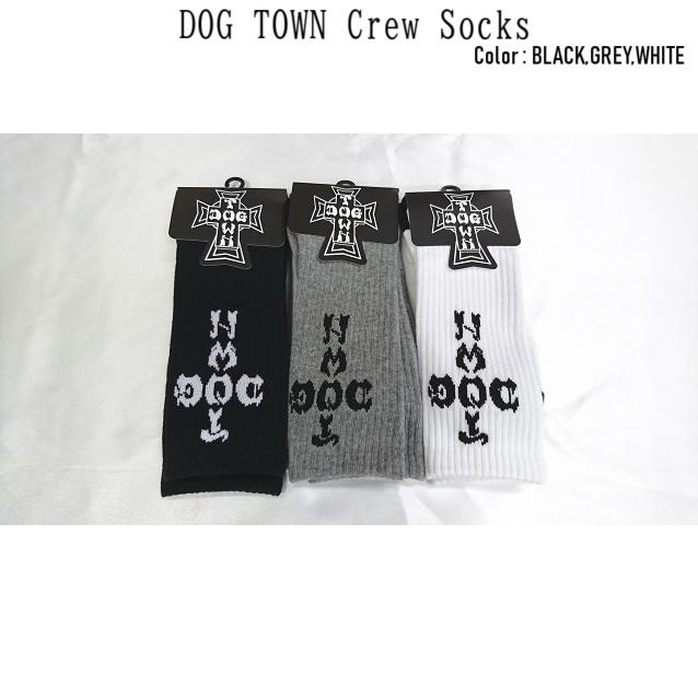 DOG TOWN ドッグタウン DT Crew Socks