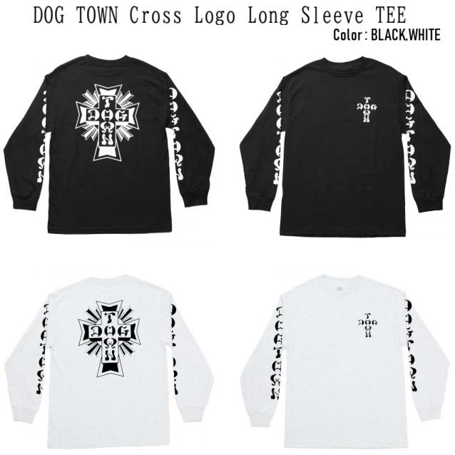 DOG TOWN ドッグタウン Cross Logo L/S TEE