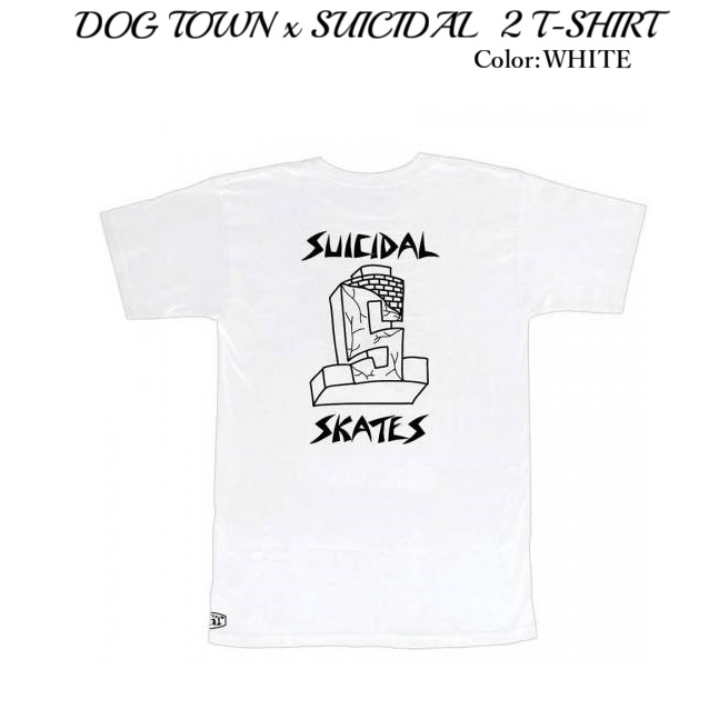 DOG TOWN ドッグタウン DTxST 2 T-SHIRT