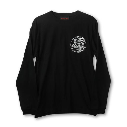 『コブラ会』サークルスネークロゴ ロングスリーブ Tシャツ (モノ)