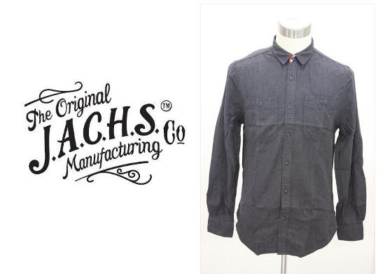 セール50%オフ J.A.C.H.S ジャストアチープシャツ WOVEN L/S SHIRT 長袖シャツ