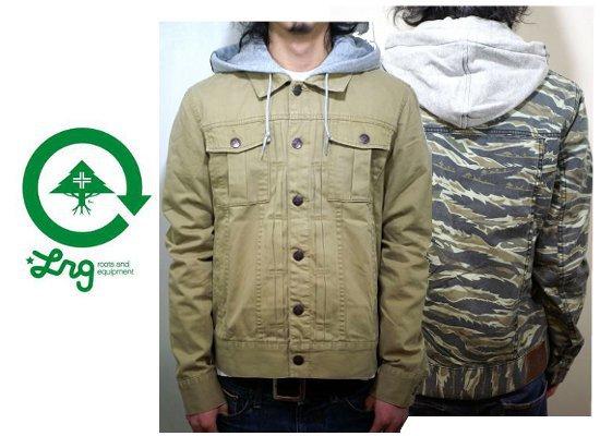 エルアールジーのジャケット