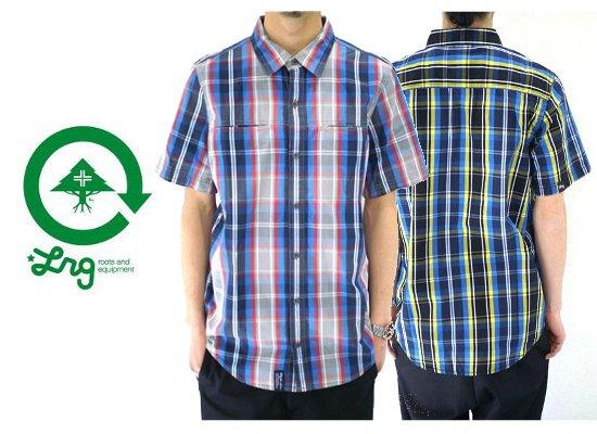 セール50%オフ LRG エルアールジー LT CHECK S/S SHIRT 半袖 チェックシャツ S~XXL(2XL)