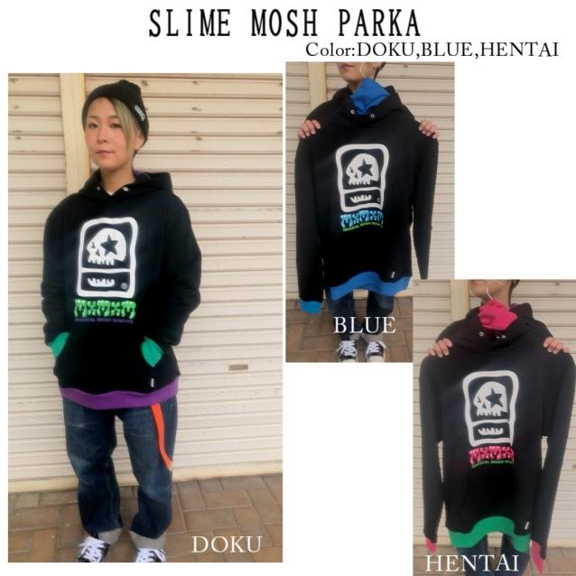 セール20%オフ MxMxM MAGICAL MOSH MISFITS マジカルモッシュミスフィッツ SLIME MOSH PARKA