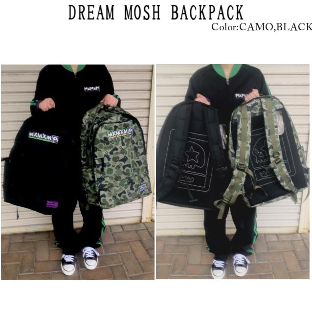 MxMxM MAGICAL MOSH MISFITS マジカルモッシュミスフィッツ DREAM MOSH BACKPACK