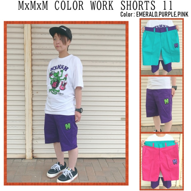 MAGICAL MOSH MISFITS マジカルモッシュミスフィッツ MxMxM COLORWORK SHORTS 11