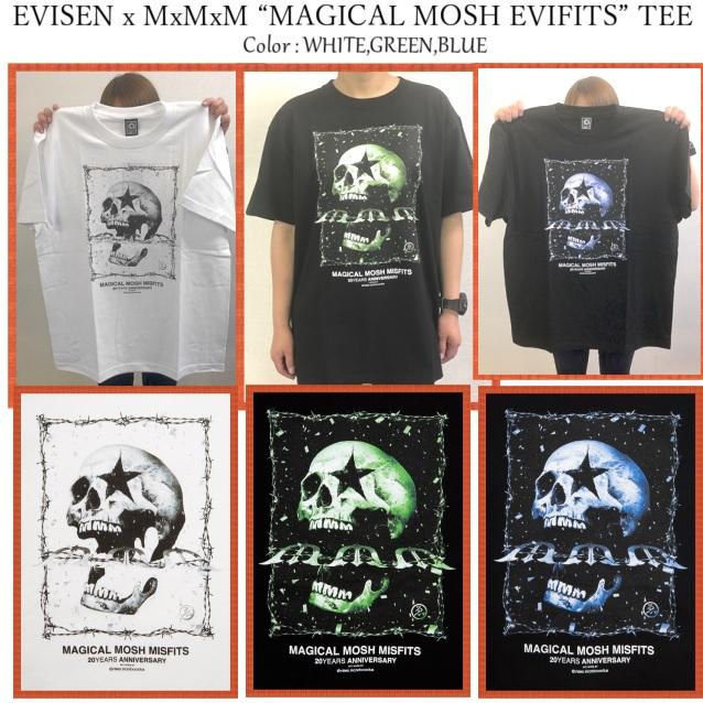 """セール MAGICAL MOSH MISFITS マジカルモッシュミスフィッツ EVISEN x MxMxM """"MAGICAL MOSH EVIFITS"""" TEE"""