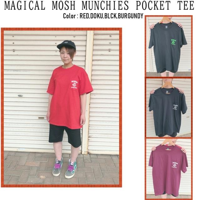 セール MAGICAL MOSH MISFITS マジカルモッシュミスフィッツ MAGICAL MOSHMUNCHIES POCKET TEE