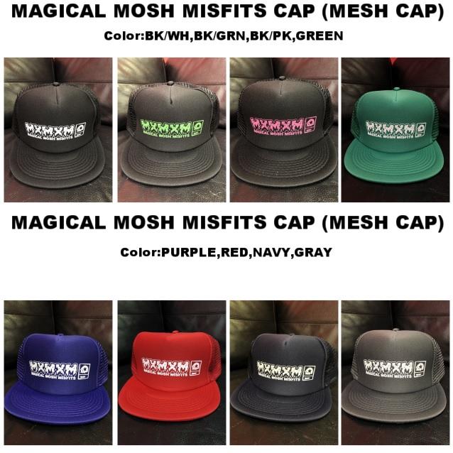 セール マジカルモッシュミスフィッツ MAGICAL MOSH MISFITS CAP(MESH CAP)