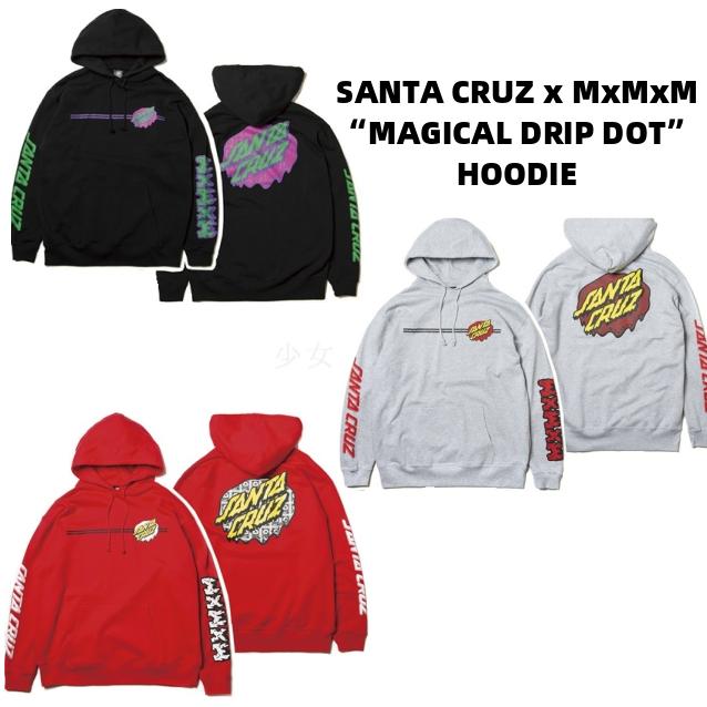 MAGICAL MOSH MISFITS マジカルモッシュミスフィッツ SANTA CRUZ x MxMxM HOODIE