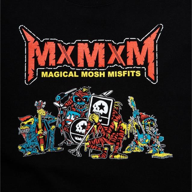 MAGICAL MOSH MISFITS マジカルモッシュミスフィッツ MxMxM BAND MONSTERS TEE