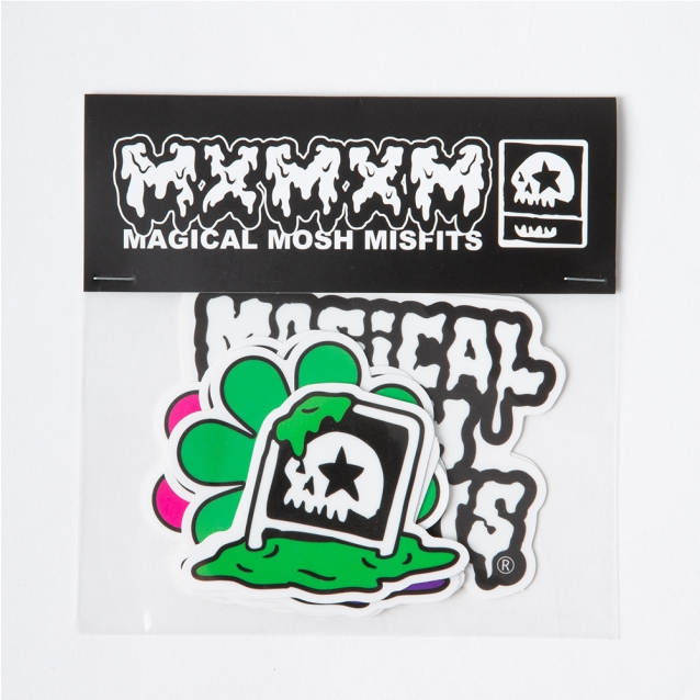 MAGICAL MOSH MISFITS マジカルモッシュミスフィッツ MxMxM STICKERx9 PACK