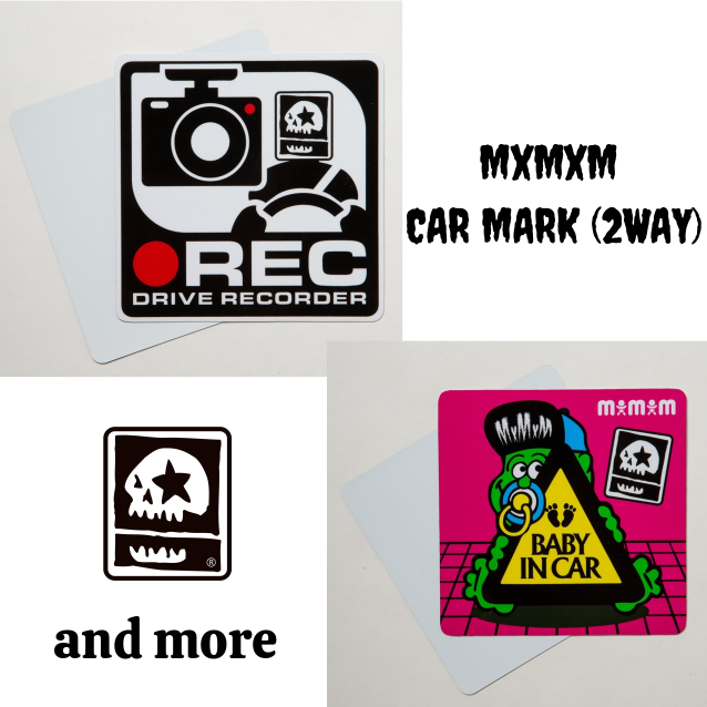 MAGICAL MOSH MISFITS マジカルモッシュミスフィッツ MxMxM CAR MARK(2WAY)