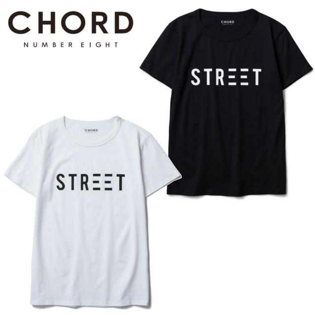 セール50%オフ CHORD#8 コードナンバーエイト STREET TEE Tシャツ