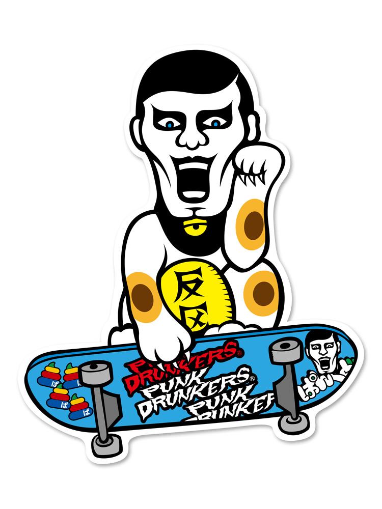 PUNK DRUNKERS パンクドランカーズ あいつフォーチューンステッカー