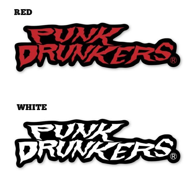 (先行予約) PUNK DRUNKERS パンクドランカーズ ステッカー / ギザロゴ【20年4月】入荷予定