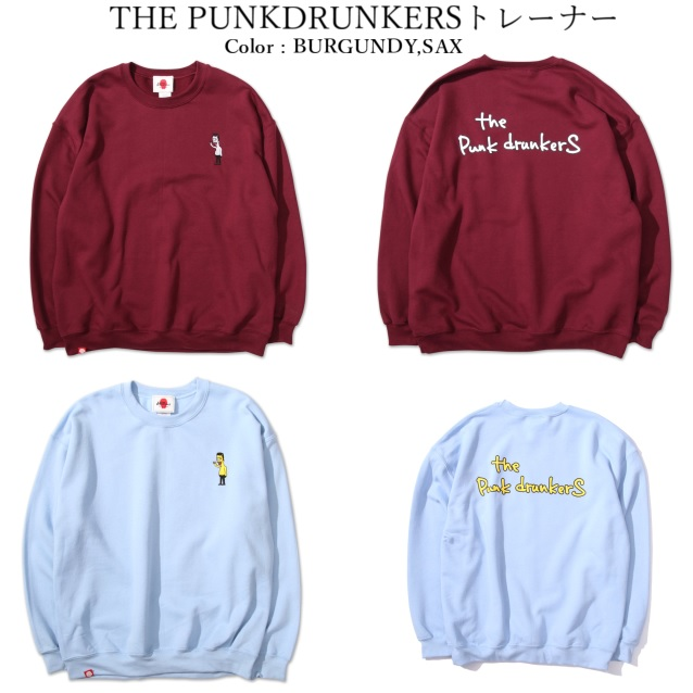 PUNK DRUNKERS パンクドランカーズ THE PUNK DRUNKERSトレーナー