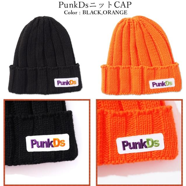 (先行予約) PUNK DRUNKERS パンクドランカーズ PunkDs ニット CAP【19年10月】入荷予定
