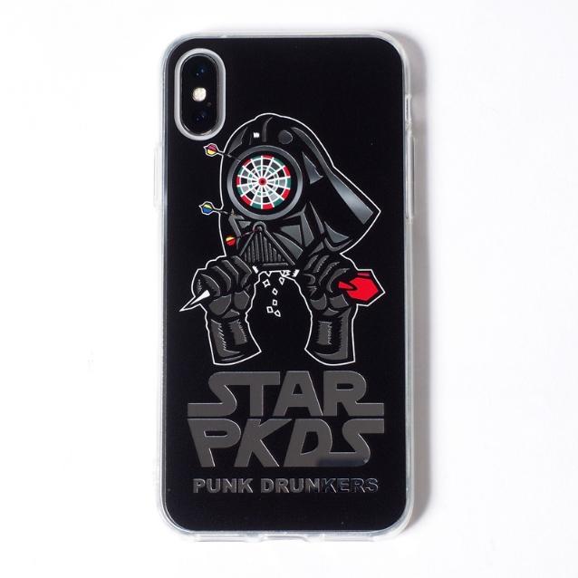 PUNK DRUNKERS パンクドランカーズ MIRROR iPhoneCASE ダーツベーダー