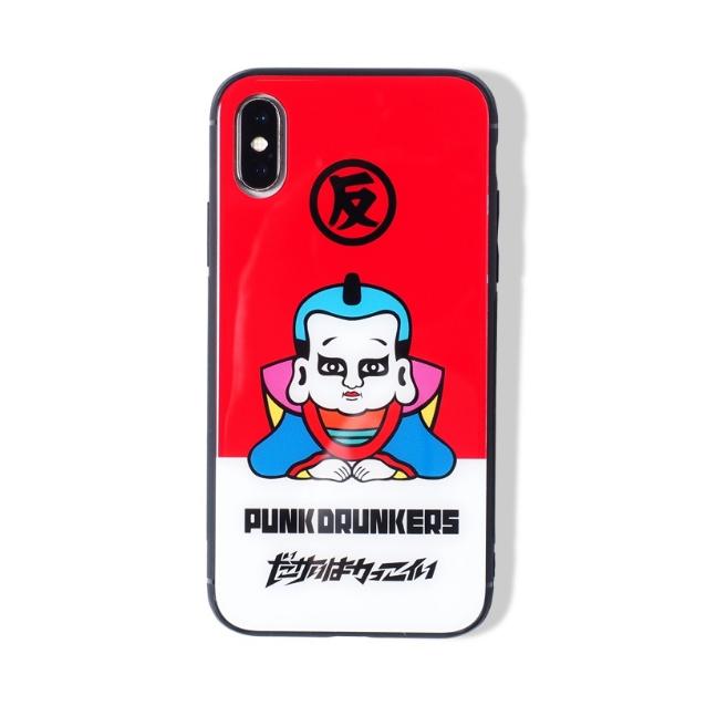 (先行予約) PUNK DRUNKERS パンクドランカーズ iPhone CASE /あいつ福助【20年8月】入荷予定