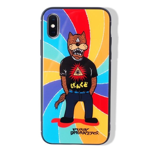 PUNK DRUNKERS パンクドランカーズ iPhone CASE /オオカミ