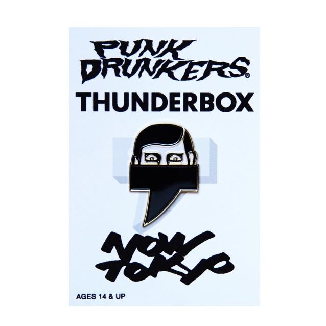 (先行予約) PUNK DRUNKERS パンクドランカーズ [PDSxTHUNDERBOX] NOW TOKYO ピンズ【20年9月】入荷予定