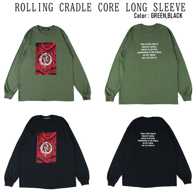ROLLING CRADLE ローリングクレイドル ROLLING CRADLE CORE LONG SLEEVE