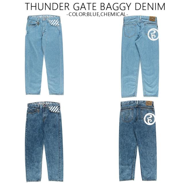 ROLLING CRADLE ローリングクレイドル THUNDAER GATE BAGGY DENIM