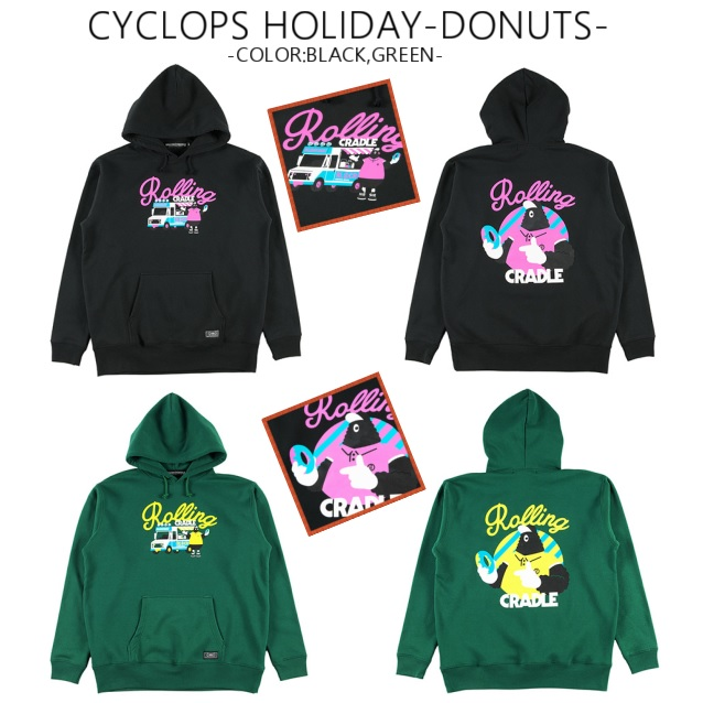ROLLING CRADLE ローリングクレイドル CYCLOPS HOLIDAY -DONUTS-