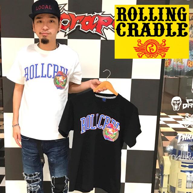 セール50%オフ ROLLING CRADLE ローリングクレイドルxFAMILY STADIUM SHOUT Tシャツ