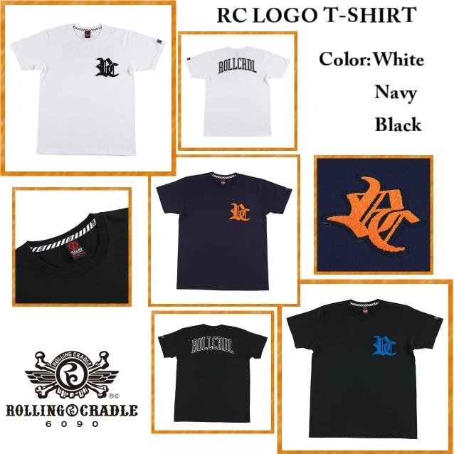 ROLLING CRADLE ローリングクレイドル RC LOGO T-SHIRT
