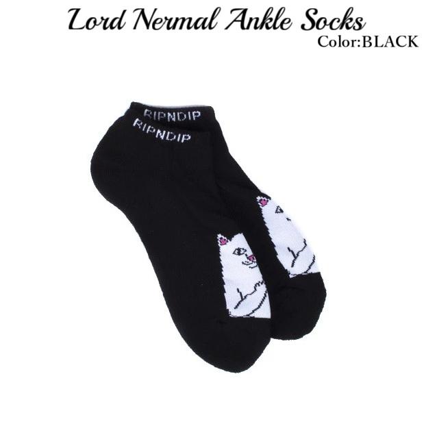 RIPNDIP リップンディップ Lord Nermal Ankle Socks