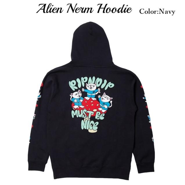 RIPNDIP リップンディップ Alien Nerm Hoodie