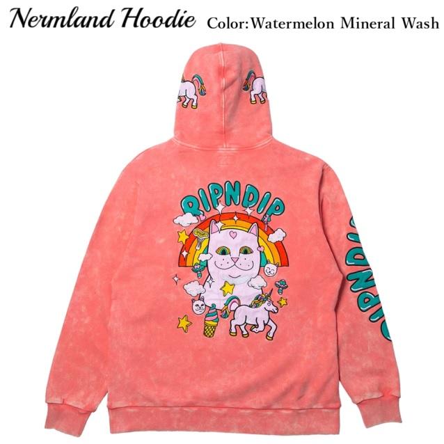 RIPNDIP リップンディップ Nermland Hoodie Watermelon