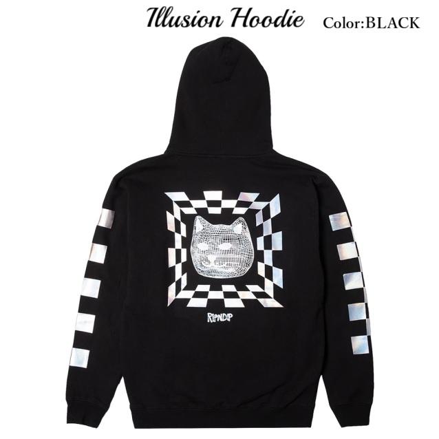 RIPNDIP リップンディップ Illusion Hoodie