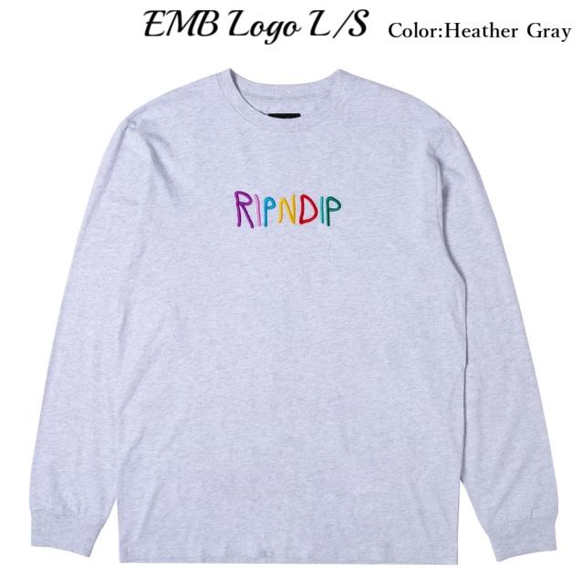 RIPNDIP リップンディップ EMB Logo LS